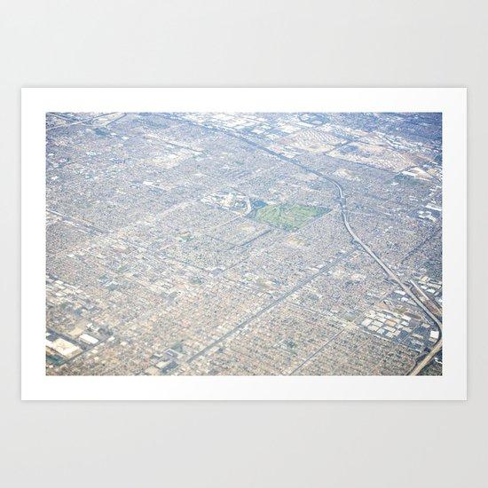 GEOgraphy II Art Print