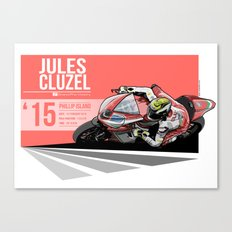 Jules Cluzel - 2015 Phillip Island Canvas Print