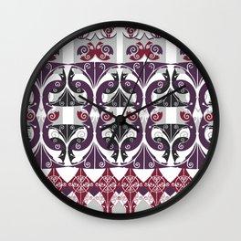 FauxBeaux Wall Clock