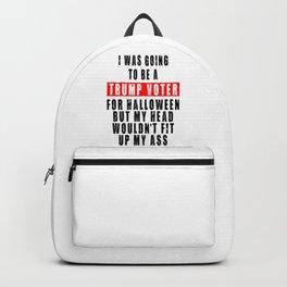 TRUMP VOTER FOR HALLOWEEN Backpack