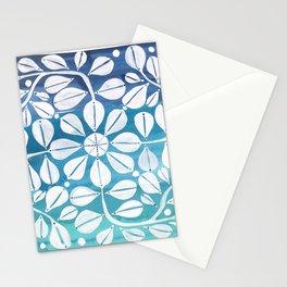 Blue Zellige Stationery Cards