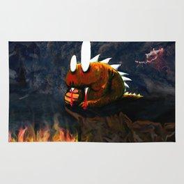 Dino Monster Design Rug