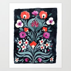 Eve Flower Art Print