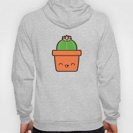 Cactus in Kawaii Pot  2 Hoody