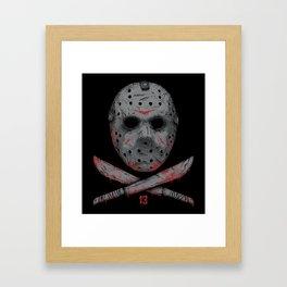Friday 13 Framed Art Print