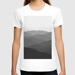 Shades of Grey Mountains T-shirt