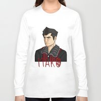 nerd Long Sleeve T-shirts featuring Nerd by BlackPhoenixFeathers