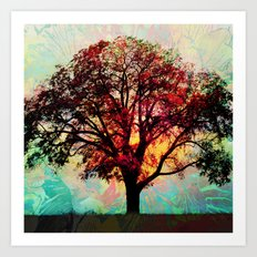 Fall Tree 2 Art Print