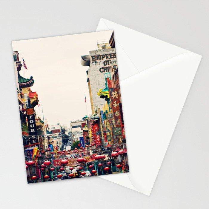 San Francisco China Town Stationery Cards