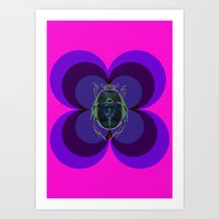 Insect, beetle Art Print