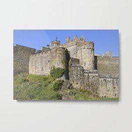 Cahir Castle in Ireland Metal Print