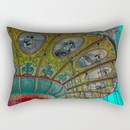 Vintage and colored Rectangular Pillow