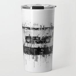 cassette / tape Illustration black and white painting Travel Mug