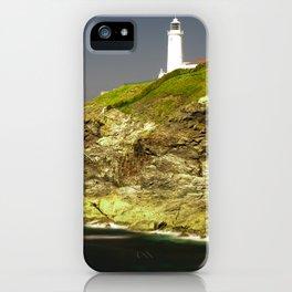Trevose Head Lighthouse, Cornwall, United Kingdom iPhone Case