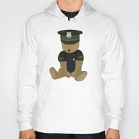 police Hoodies featuring police ted  by bri.buckley