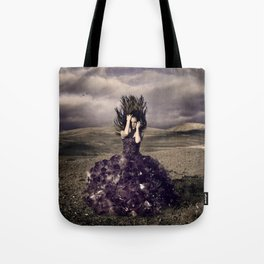 Attached to earth Tote Bag