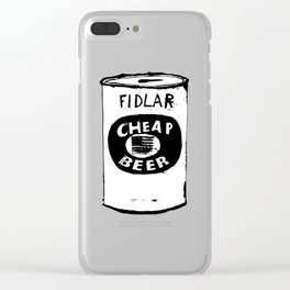 Cheap Beer Clear iPhone Case