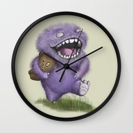 Joy Monster Wall Clock