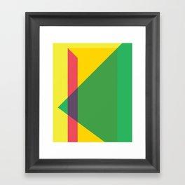Cacho Shapes LXXXIV Framed Art Print