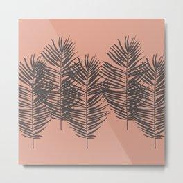 Palms Pattern #society6 #decor #buyart Metal Print