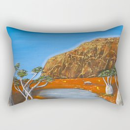 Beds Are Burning Rectangular Pillow
