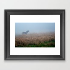mule. Framed Art Print