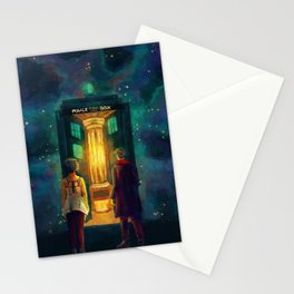 The Doctor, Bill and the kitchen Stationery Cards