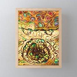 The Peace Eats Framed Mini Art Print