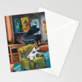 Frasier's apartment Stationery Cards