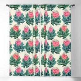Protea flower garden Blackout Curtain