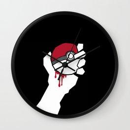 Poké-idiot Wall Clock