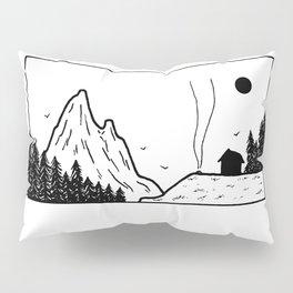 Petit campement Pillow Sham