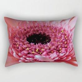 Pink Germini Close up Rectangular Pillow