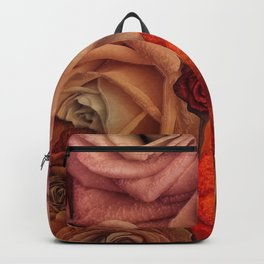 """Bouquet of fantasy roses (Fairy tale)"" Backpack"