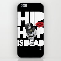 hiphop iPhone & iPod Skins featuring HipHop is Dead... by Frankie White
