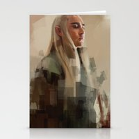 thranduil Stationery Cards featuring Thranduil by Wisesnail