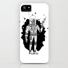 Intergalactic Bone Man iPhone Case