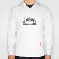 porsche Hoodies featuring Porsche 906 by Remove Before . . .