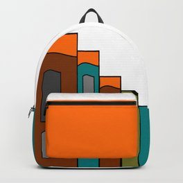 Creative Reading - Zine Page Graphics Backpack