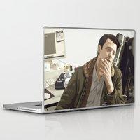 british Laptop & iPad Skins featuring British Intelligence by AdamAether
