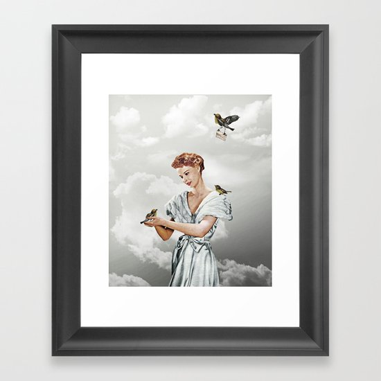 Third Beat IV Framed Art Print