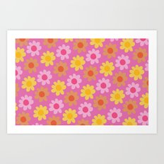 Summer Flowers (2) Art Print