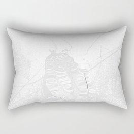 Heart in peace Rectangular Pillow