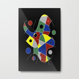 Abstract #232 Metal Print