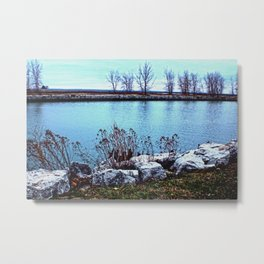 Buffalo Point Metal Print