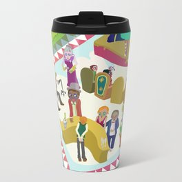 Half time at the ballet Metal Travel Mug