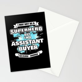 Assistant Buyer Superhero Assistant Buyer Gift Stationery Cards