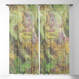 Hemp texture Sheer Curtain