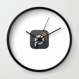 Pressgram Icon Wall Clock