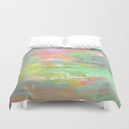 Aurora Abstract Duvet Cover